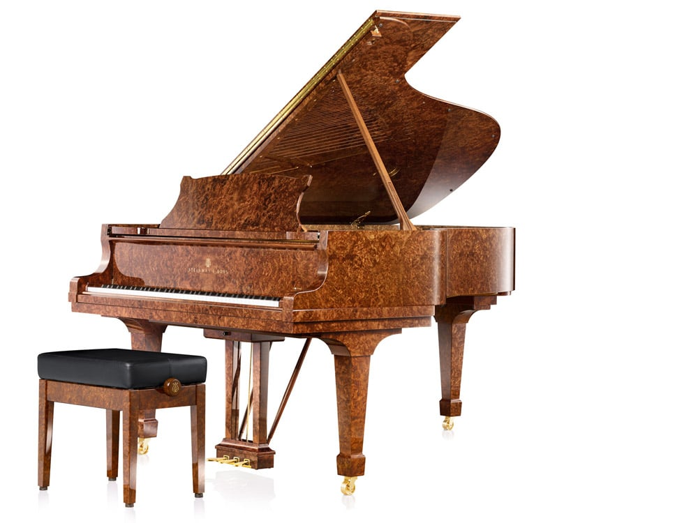 Crown Jewels Grand Piano from Steiway & Sons