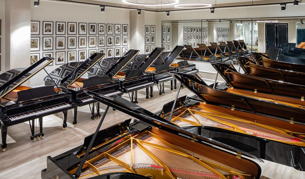 STEINWAY HALL IS OPEN BY VIRTUAL APPOINTMENT ONLY